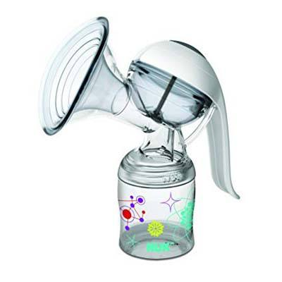 4. NUK Expressive Manual Breast Pump