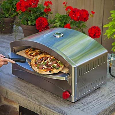 8. Camp Chef Italia Artisan Pizza Oven
