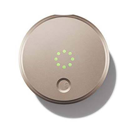 3. 1st Generation August Smart Lock Champagne