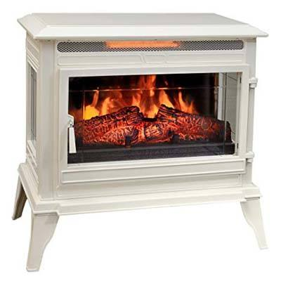 8. Comfort Smart CS-25IR-BLK Smart Jackson Electric Fireplace