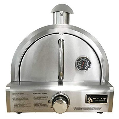 10. Mont Alpi MAPZ-SS Table Top Gas Pizza Oven