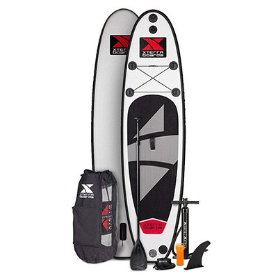 9. XTERRA Boards-Inflatable 10-Inch Stand Up Paddle Board