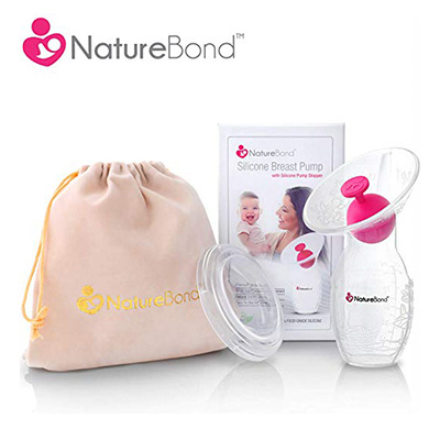 7. NatureBond Silicone breast pump