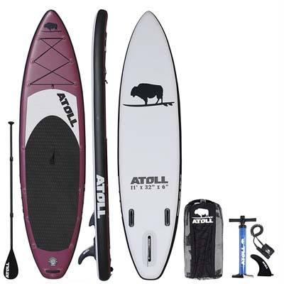 3. Atoll 11-ft. Inflatable Standup Paddle Board