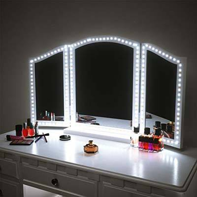 3. PANGTON VILLA Vanity Mirror Lights Kit