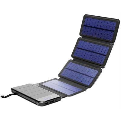 9. Solar Phone Charger 10000mAh Portable battery