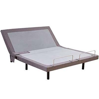 3. Hofish 2S Queen Wired Adjustable Bed