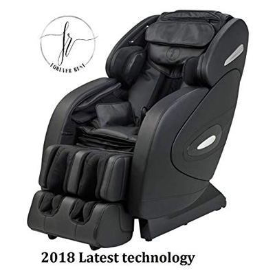 10. Forever Rest Zero Gravity Heated L Massage Chair