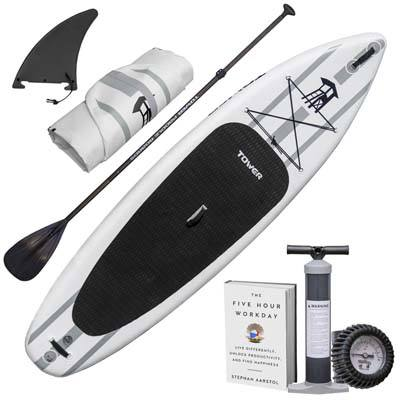 5. Tower Inflatable 10 Inch by 4 Inch Stand up Paddle Board