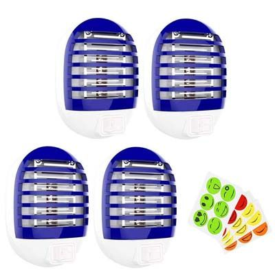 3. Maxtry 4-Pack Mosquito Insect Killer Lure Mosquito Trap