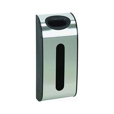 9. Simplehuman Grocery Bag Dispenser (Brushed Stainless Steel)