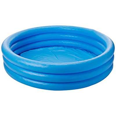 4. Intel Crystal Blue Inflatable Pool 45 by 10 Inch Inflatable pool