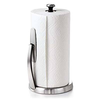 10. OXO Good Grips Paper Towel Holder