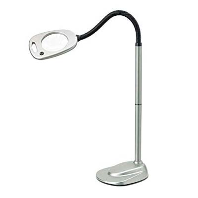 6. Light It! 12-LED Magnifying Lamp by Fulcrum