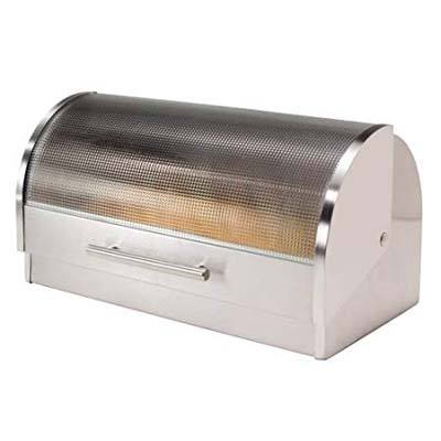 6. Oggi Stainless Steel Bread Box