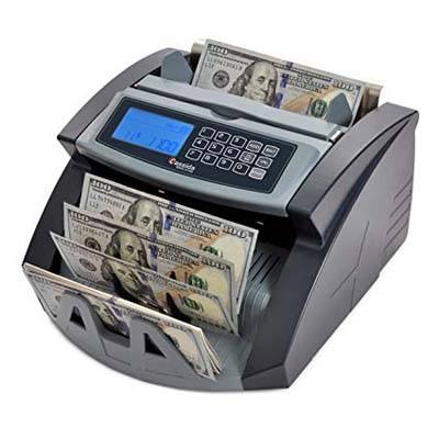 3. Cassida 5520 Money Counter with Counterfeit Detection