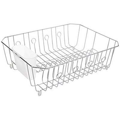 8. Rubbermaid Antimicrobial Large Dish Rack