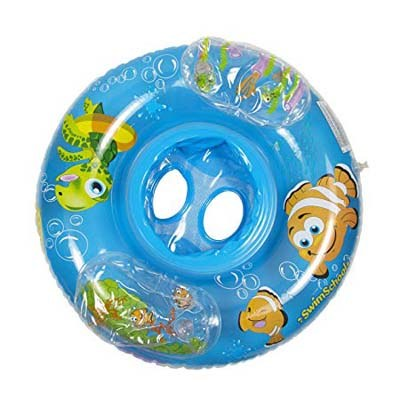 5. SwimSchool Aquarium Inflatable Pool Float