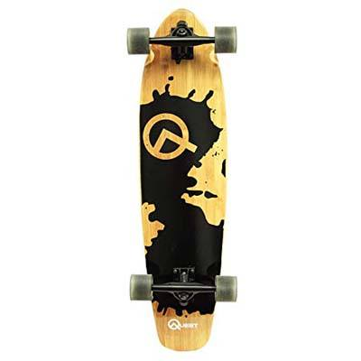 8. Quest 230Rorshack Bamboo Longboard