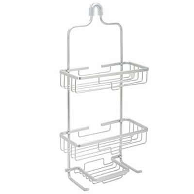 7. Zenna Home 7402AL, Aluminum NeverRust Shower Caddy
