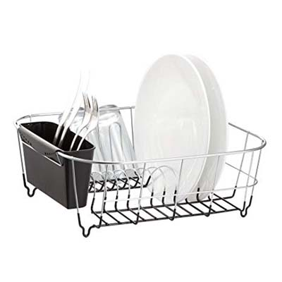 7. Neat-O Chrome-plated Dish Drainers (Black)