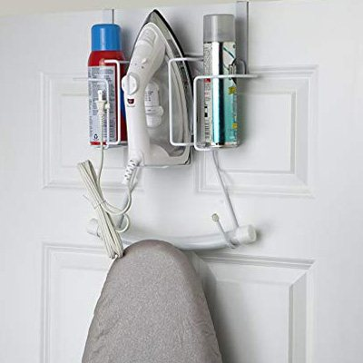 4. Home Basics Iron Board Holder