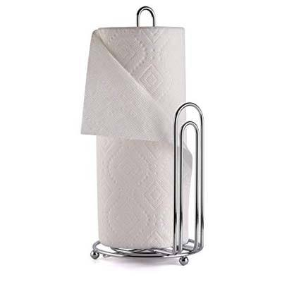 8. Greenco Chrome Paper Towel Holder