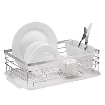 5. Neat-O Stylish Stainless Steel Metal Dish Drying Rack