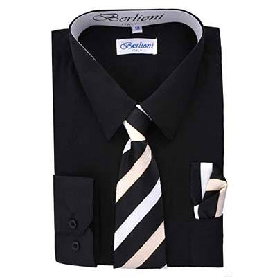 5. Berlioni Long Sleeve Dress Shirt