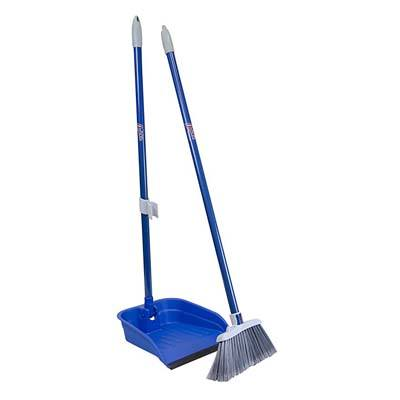7. Quickie Lobby Broom & Dustpan
