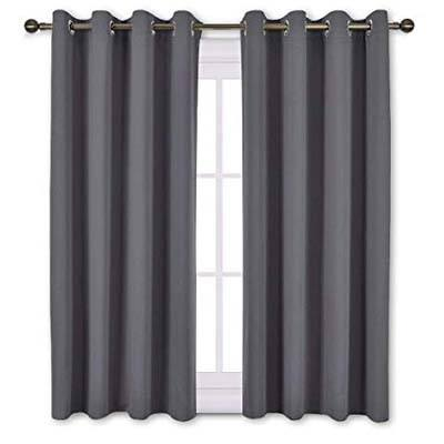 10. Nicetown Bedroom Blackout Curtains