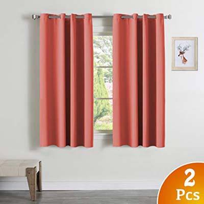 7. Turquoize Blackout Curtains