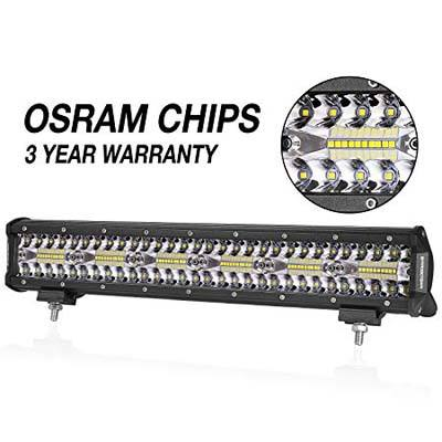 8. OFFROADTOWN 18-INCH LED Light Bar