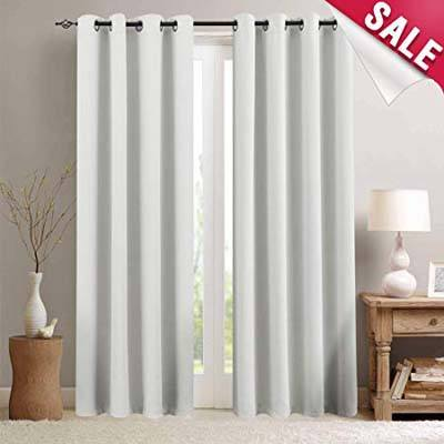 1. Vangao Blackout Curtains