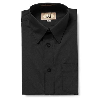 9. AKA Boys Wrinkle-free Long Sleeve Dress Shirt