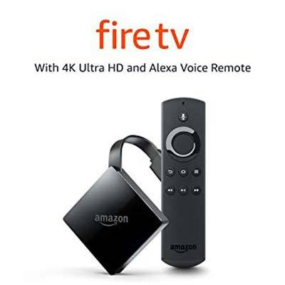 7. Certified Refurbished Fire TV Stick with Ultra 4K HD and Alexa Remote