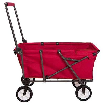 10. REDCAMP Collapsible Wagon Cart