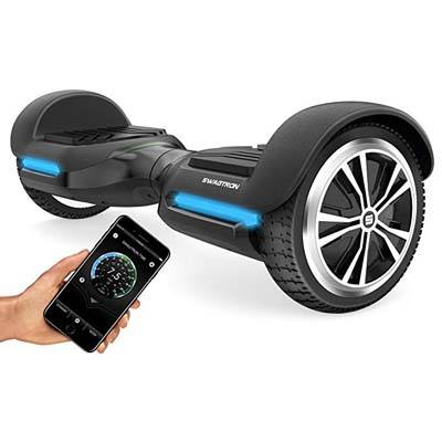 6. Swagtron Swagboard Vibe T580 Apple enabled Bluetooth Hoverboard