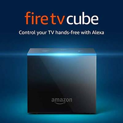 9. Fire TV cable All-in one streaming media player