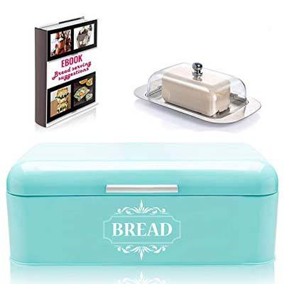 2. All-Green Products Vintage Bread Box