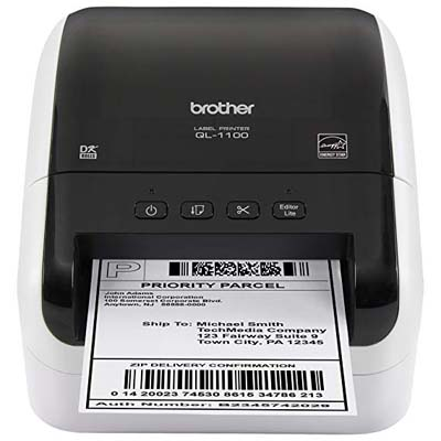 9. Brother QL-1100 Postage and Barcode Thermal Printer