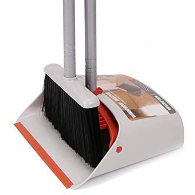 4. LiKe Broom and Dustpan Set for Home or Office