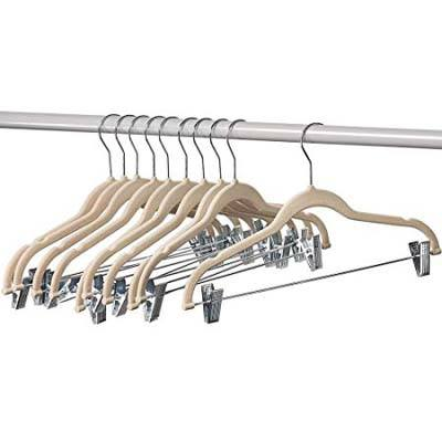 2. Home-It 10-Pack Clothes Hange