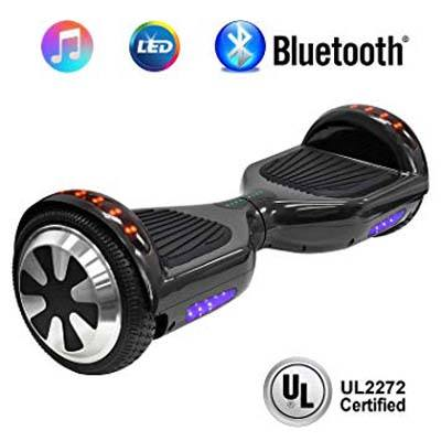 9. NHT 6.5-Inch Hoverboard Electric Self-balancing Scooter