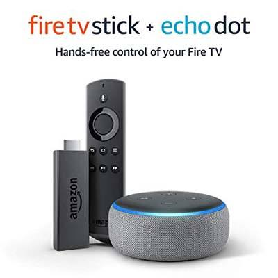 5. Echo Dot Third Generation Fire TV stick