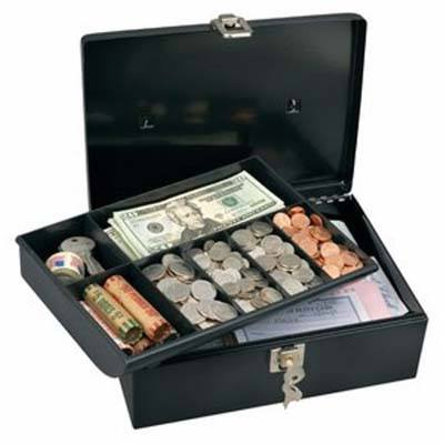 3. Master Lock 7113D 7-Compartment Cash Box