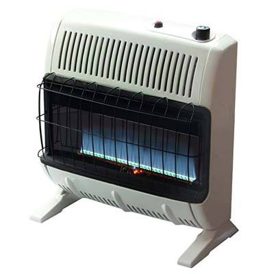 4. Mr. Heater VF30KBLUELP Propane Blue Flame Heater