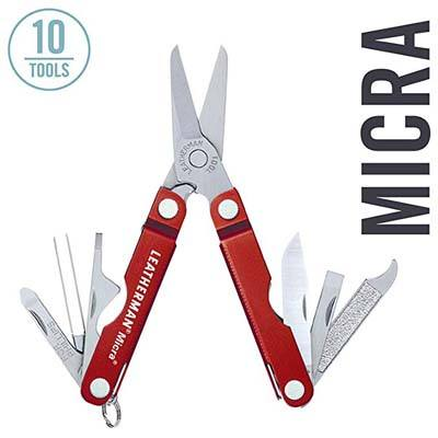 4. LEATHERMAN Micra, Keychain Size Multitool