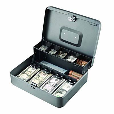 2. Steelmaster 2216194G2 Tiered Cash Box