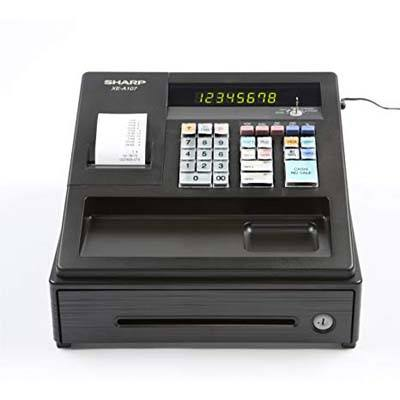 2. Sharp XEA107 Entry-Level Cash Register